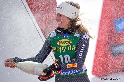 Sci alpino femminile: Marta Bassino, che inizio in Coppa del mondo! Primo posto nel gigante di Soelden