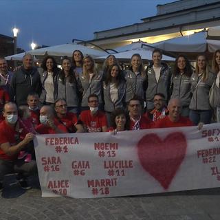 La Bosca San Bernardo Cuneo a cena con i supporter biancorossi (VIDEO)