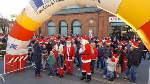 Tutto pronto per la Camminata dei Babbi di Natale a Savigliano