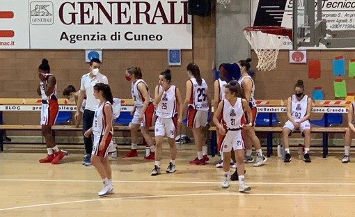 Basket femminile Serie B: la BAM Granda College Cuneo sfiora l'impresa contro Savona