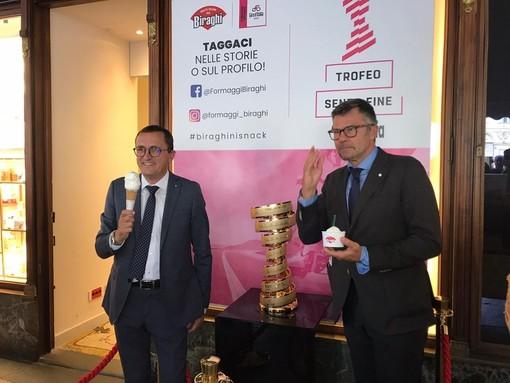 """Biraghi fornitore ufficiale del Giro d'Italia: """"Il nostro è un matrimonio naturale"""" [VIDEO]"""