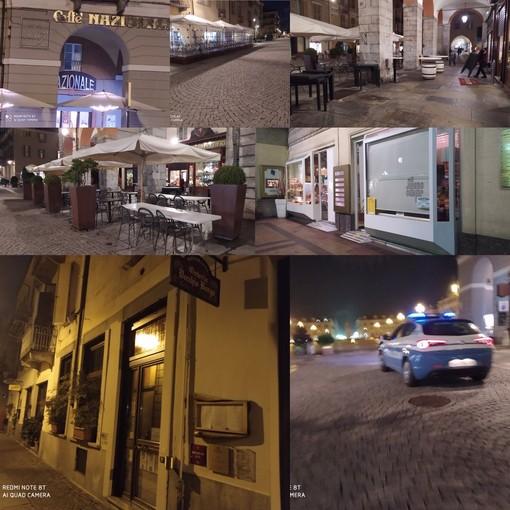 Flashmob di locali e ristoranti... ma nel frattempo, a Cuneo, serrande abbassate alle 18 (FOTO E VIDEO)