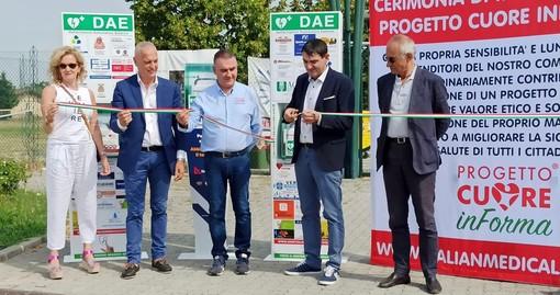 """Progetto Cuore-Fossano, Bergesio-Tallone: """"Quattro defibrillatori per la sicurezza ai cittadini, grazie alla sinergia tra Amministrazione e mondo dell'imprenditoria"""""""