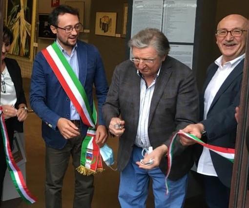 Beinette, inaugurata la mostra dell'artista Livio Politano [FOTO]