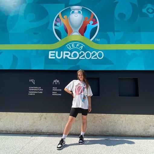 La ballerina Elena Morino da Bra a Roma per la cerimonia di apertura di Euro 2020