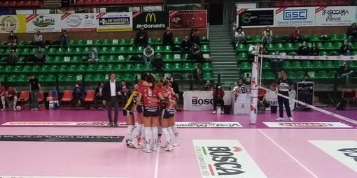 Volley femminile A1: la Bosca S.Bernardo Cuneo chiude la regular season con una vittoria, Casalmaggiore piegata 3-2