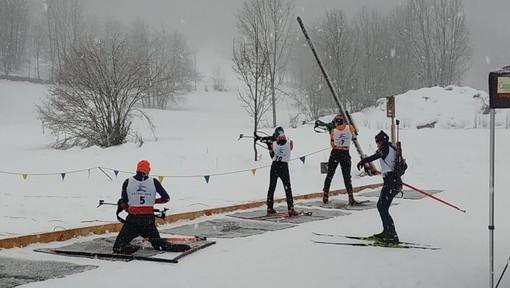 Biathlon: ultimo raduno per la squadra AOC, i giovani biatleti si sono ritrovati ad Entracque