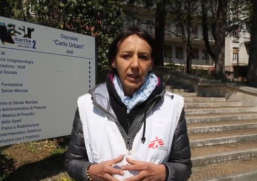 Con Medici Senza Frontiere opera nelle case di riposo delle Marche contro il Coronavirus: la storia della braidese Barbara Maccagno (VIDEO)