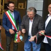 Beinette, inaugurata la mostra dell'artista Livio Politano