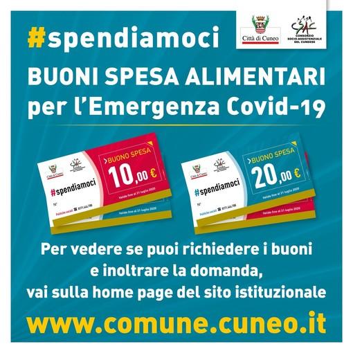 #Spendiamoci, a Cuneo da domani (a partire dalle 8,30) è possibile richiedere i Buoni Spesa