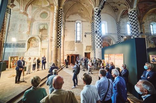 Nel bel San Domenico di Alba si è aperta la mostra antologica dedicata a Piero Simondo (Foto Luca Privitera, Hand Made Passion)