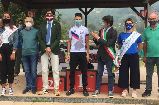 Ciclismo: Gabriele Cerutti dell'Esperia Piasco campione regionale Allievi