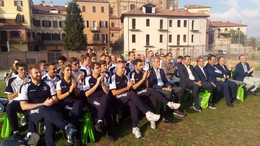 """Volley maschile A3 - E' tempo di presentazione per la BAM Acqua S.Bernardo Cuneo, il vice presidente Costamagna: """"Vogliamo riportare i cuneesi al palazzetto!"""" (VIDEO)"""