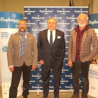 Massimo Gianoglio (vicepresidente), Clemente Malvino (presidente), Sergio Cravero (vicepresidente vicario)