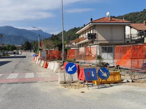 Avviati i lavori di ristrutturazione di via Roma a Rifreddo