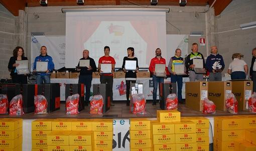 Ciclismo - Premiati i protagonisti del circuito Coppa Piemonte 2018