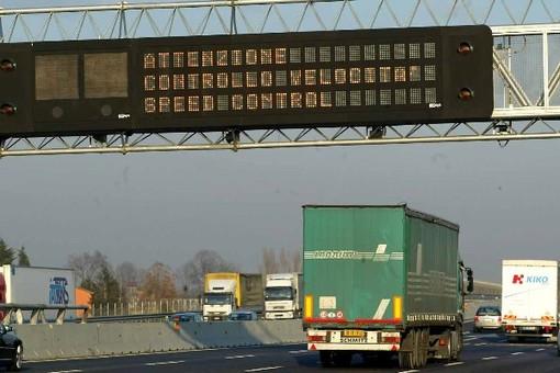 Tutor sulla A6: da domani sarà attivo anche nel tratto Marene-Carmagnola