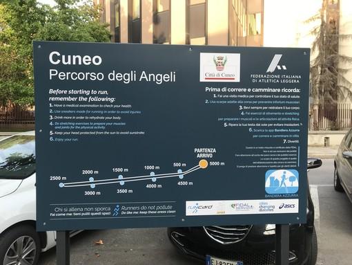"""""""Percorso degli Angeli"""": Cuneo ha il suo primo tragitto cittadino omologato dalla Fidal"""