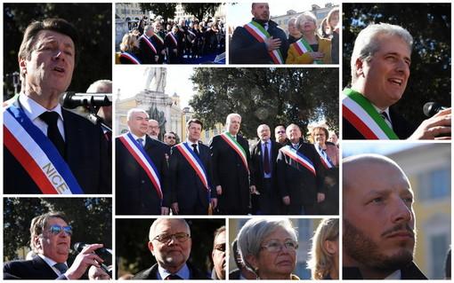 A Nizza un momento di pace e unione tra Italia e Francia (VIDEO)