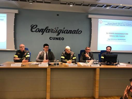 Confartigianato Cuneo e Vigili del Fuoco insieme per spiegare alle imprese obblighi relativi alla sicurezza antincendio