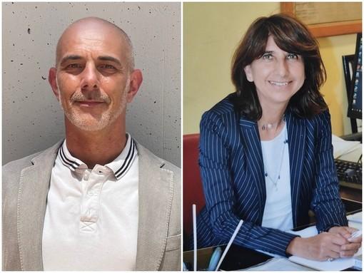 Gianfranco Cassissa, Direttore Amministrativo proveniente dall'ASL CN2 e Monica Rebora già Direttore Sanitario nella stessa Azienda
