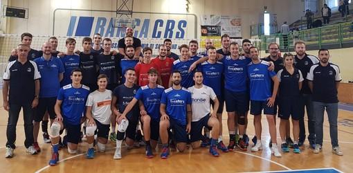 Volley maschile A3: continua la preparazione della Banca Alpi Marittime Acqua S. Bernardo Cuneo
