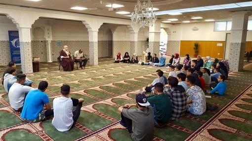 Foto dalla pagina Facebook della Comunità Islamica di Cuneo