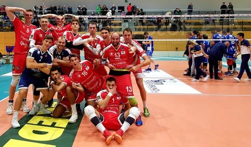 """Volley maschile A3 - Cuneo sugli scudi a Bolzano, Serniotti: """"Tre punti sofferti, siamo stati bravi a rimontare"""""""