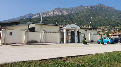 Completata la riqualificazione dell'area esterna del cimitero di Rifreddo