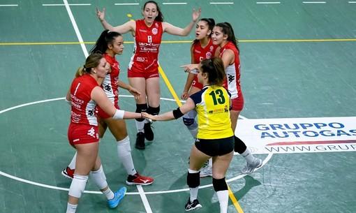 Per le ragazze della Ubi Banca Bosca Cuneo primo successo in trasferta in Serie B2 (foto di repertorio – credit Danilo Ninotto)