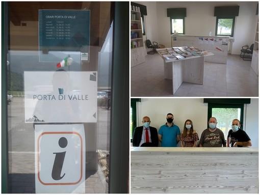 """A Demonte ha riaperto l'ufficio turistico """"Porta di Valle"""""""
