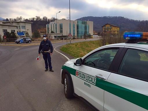 Boves, circolava senza un valido motivo: denunciato dalla Polizia Locale