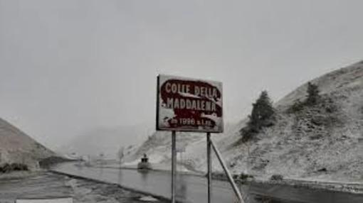 Colle della Maddalena, in vista del maltempo chiuso il tratto tra Argentera e il Confine di Stato