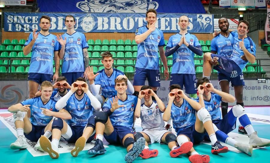 Volley maschile A2: Cuneo supera Brescia in cinque set ...