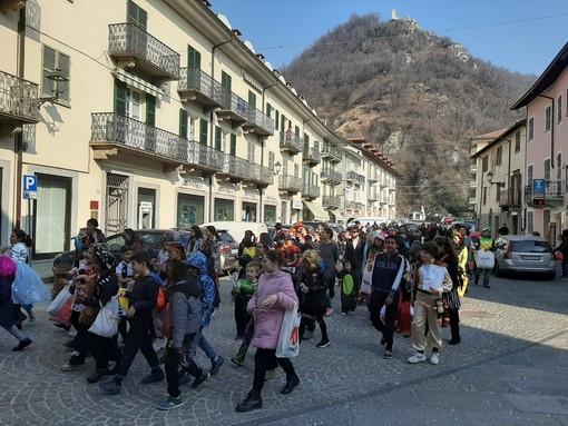 Chiusa Pesio: grande successo per il Carnevale dei bambini