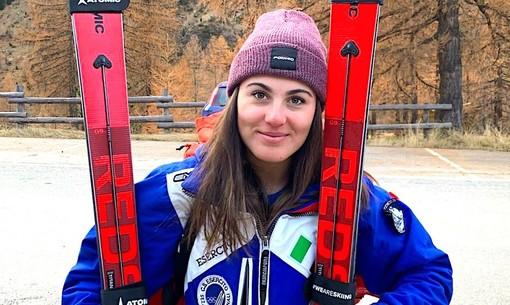 Sci alpino femminile: Carlotta Saracco seconda a metà gara nell'ultimo slalom di Solda