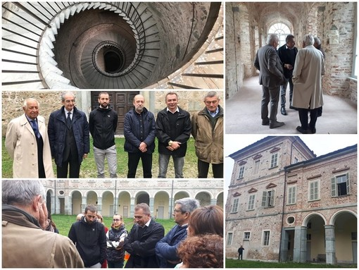 """Sopralluogo regionale al Castello di Valcasotto, il consigliere Bongioanni: """"Questo bene deve riaprire nella primavera 2021"""""""