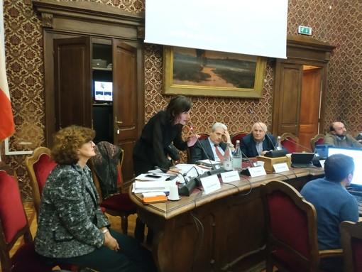 L'assessore Cristina Clerico parla in consiglio comunale