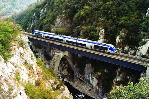 Una spettacolare immagine della Cuneo-Ventimiglia-Nizza scaricata dal sito del Fai