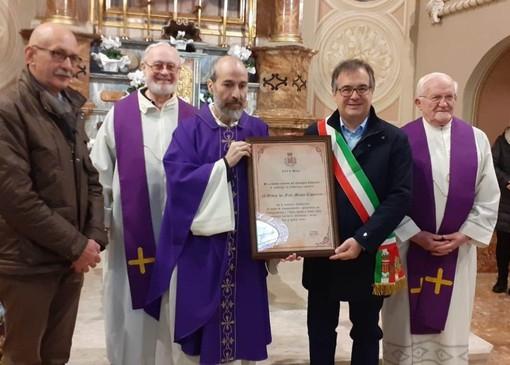 Il comune di Busca ha dato la cittadinanza onoraria ai frati minori Cappuccini