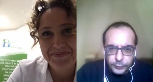 """Carla Tosco, titolare della Farmacia Bottasso di Cuneo: """"Si è rafforzato il nostro ruolo di consulenti, tante persone si sono rivolte a noi per chiarire dubbi e avere rassicurazioni"""" (VIDEO)"""