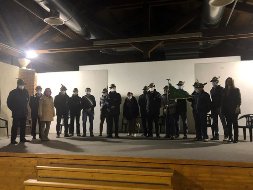 A Frabosa Sottana cittadinanza onoraria per gli Alpini della sezione monregalese