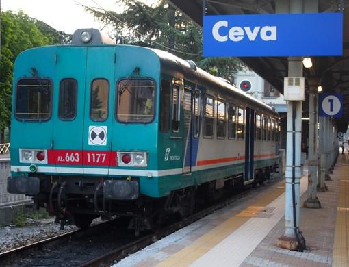 Stop alla circolazione dei treni tra Fossano e Ceva fino al 2 novembre