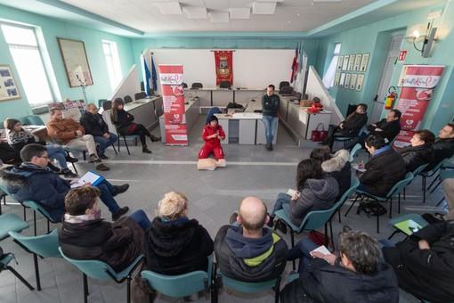 Il corso BLSD di sabato 19 gennaio a Borgo San Dalmazzo