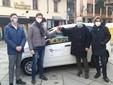 La consegna della Fiat Panda all'Asl da parte del Rotary Saluzzo