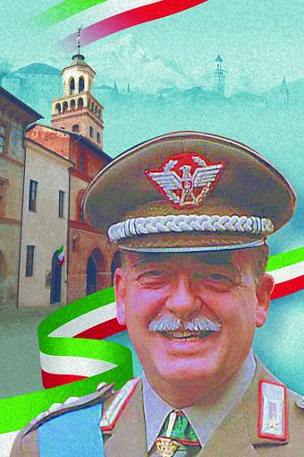 la cartolina dedicata al Generale Carlo Alberto Dalla Chiesa