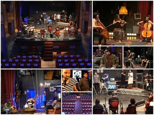 #StaseraNonVieneNessuno: buona la prima dello spettacolo live in diretta streaming dal Toselli di Cuneo (VIDEO)