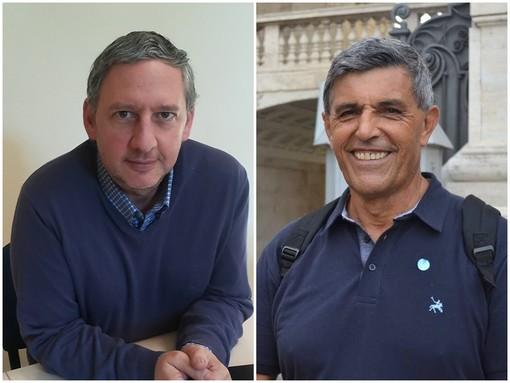 Fulvio Rubiolo e Nando Arnolfo a duello per la guida di Csea, il consorzio dei rifiuti di cui fanno parte una cinquantina di Comuni dell'area saluzzese, saviglianese e fossanese