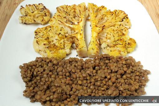 MercoledìVeg di Ortofruit: oggi prepariamo il cavolfiore speziato con lenticchie