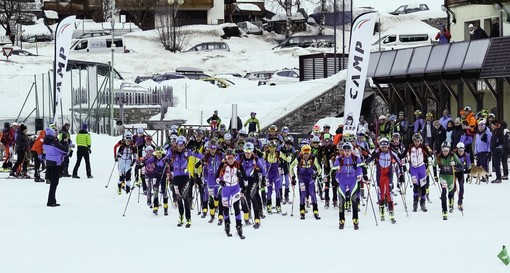 Sci alpinismo: disputati a Vermiglio i campionati giovanili, Filippo Bernardi quarto nell'individual cadetti